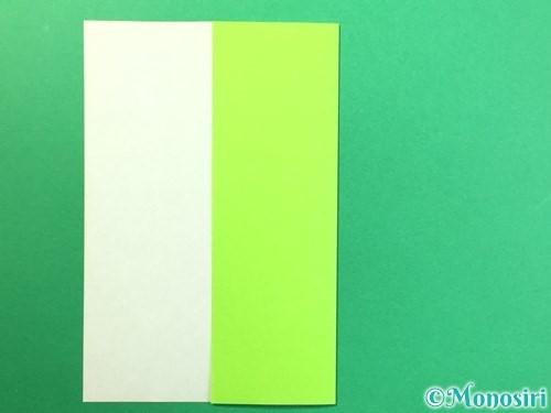 折り紙で風鈴の作り方手順44