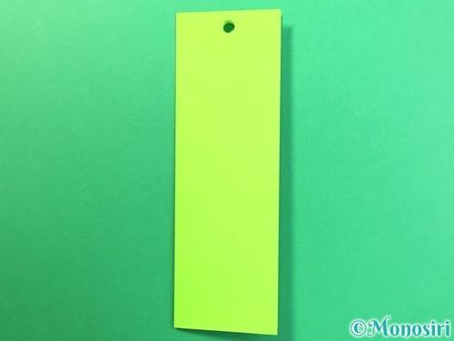 折り紙で風鈴の作り方手順47