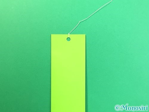折り紙で風鈴の作り方手順48