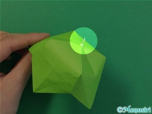 折り紙で風鈴の作り方手順52