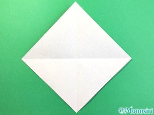 折り紙で幽霊の折り方手順2