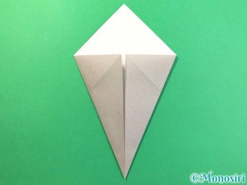 折り紙で幽霊の折り方手順4