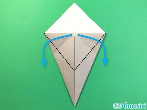 折り紙で幽霊の折り方手順7
