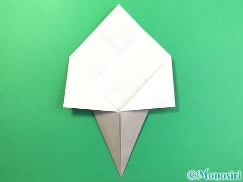 折り紙で幽霊の折り方手順8