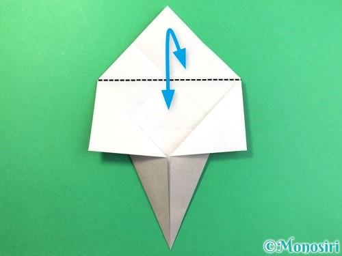折り紙で幽霊の折り方手順9