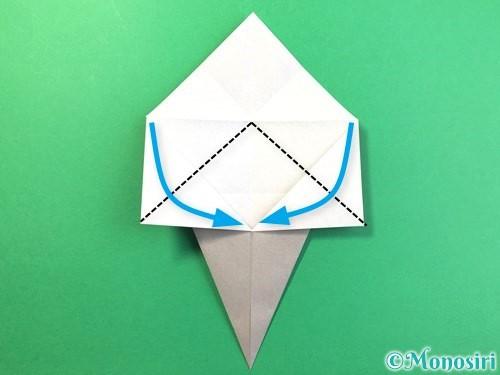 折り紙で幽霊の折り方手順11