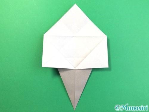 折り紙で幽霊の折り方手順10