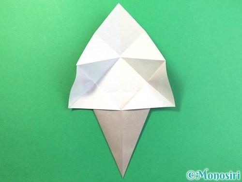折り紙で幽霊の折り方手順12