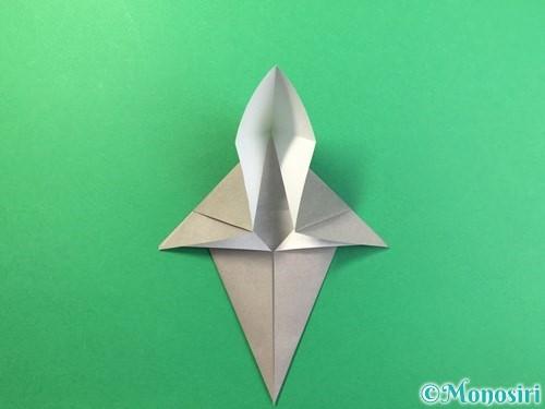 折り紙で幽霊の折り方手順13