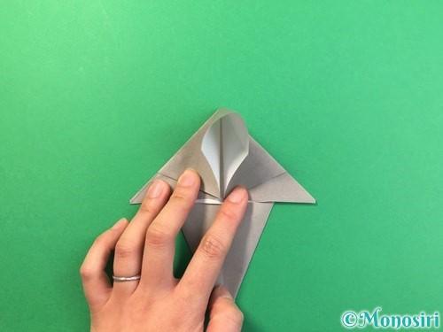 折り紙で幽霊の折り方手順14