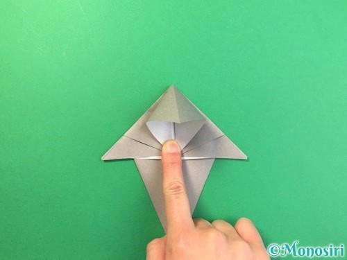 折り紙で幽霊の折り方手順15