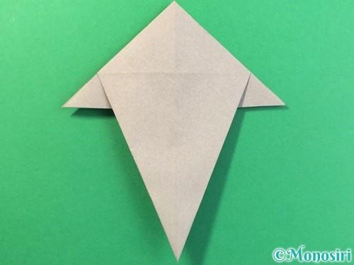 折り紙で幽霊の折り方手順17
