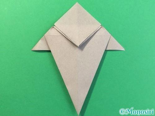 折り紙で幽霊の折り方手順19