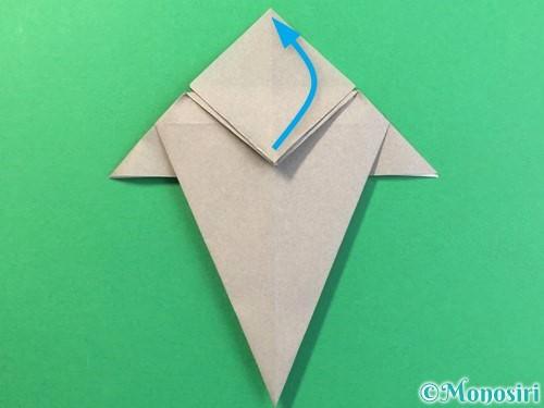 折り紙で幽霊の折り方手順20