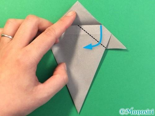 折り紙で幽霊の折り方手順22