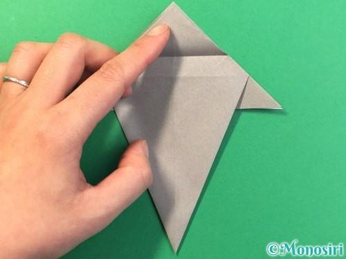 折り紙で幽霊の折り方手順21
