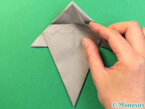 折り紙で幽霊の折り方手順23