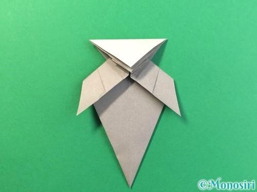 折り紙で幽霊の折り方手順31