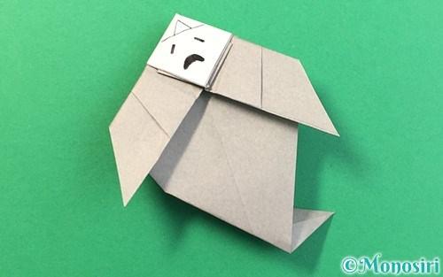 折り紙で折った幽霊