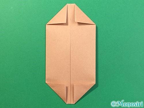 折り紙で提灯お化けの折り方手順6