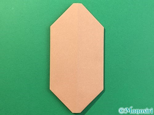 折り紙で提灯お化けの折り方手順7