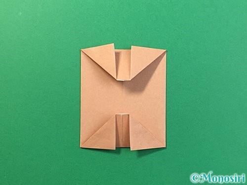 折り紙で提灯お化けの折り方手順9