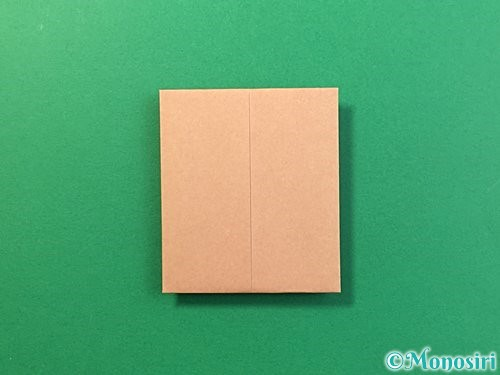 折り紙で提灯お化けの折り方手順10