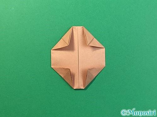 折り紙で提灯お化けの折り方手順12