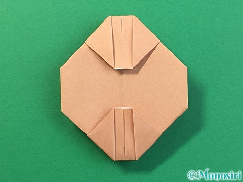 折り紙で提灯お化けの折り方手順13