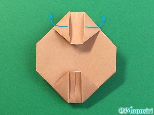 折り紙で提灯お化けの折り方手順14