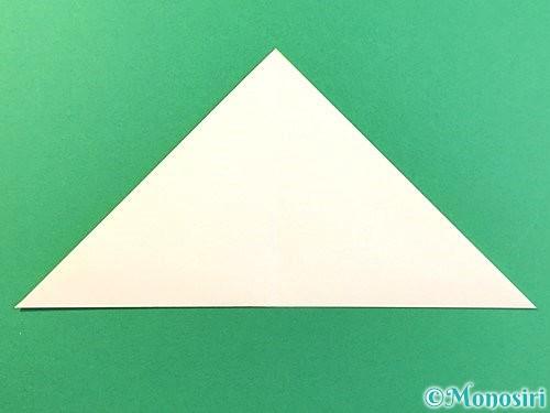 折り紙でひまわりの切り方手順4