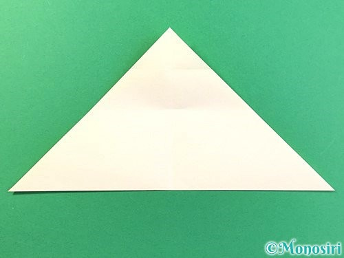 折り紙でひまわりの切り方手順9