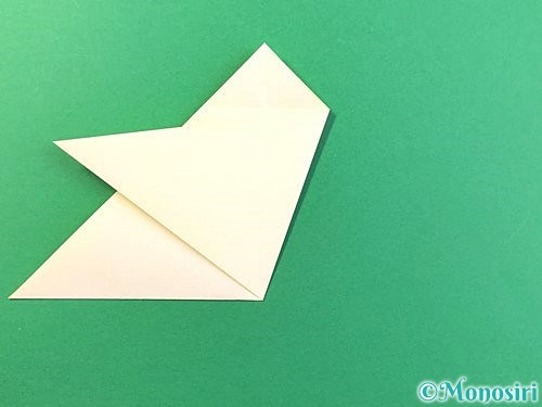 折り紙でひまわりの切り方手順11