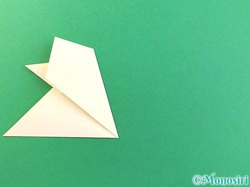 折り紙でひまわりの切り方手順13