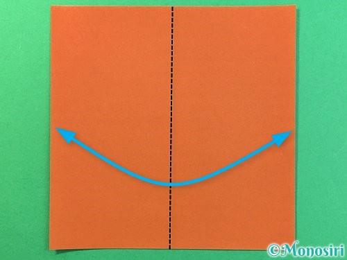 折り紙で立体的なクワガタの折り方手順39