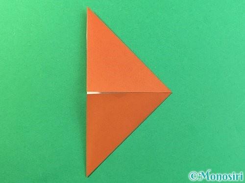折り紙で立体的なクワガタの折り方手順45
