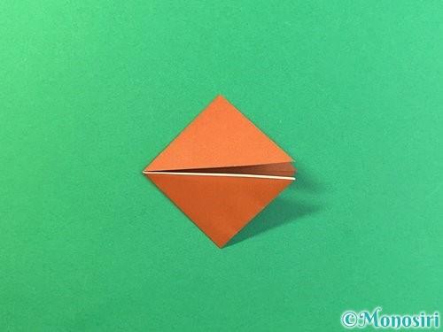 折り紙で立体的なクワガタの折り方手順47