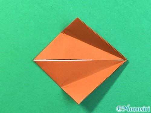折り紙で立体的なクワガタの折り方手順49
