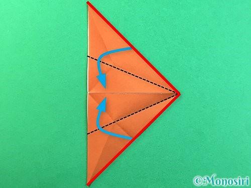 折り紙で立体的なクワガタの折り方手順52