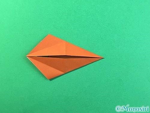 折り紙で立体的なクワガタの折り方手順53