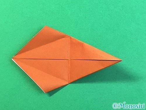 折り紙で立体的なクワガタの折り方手順55