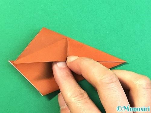 折り紙で立体的なクワガタの折り方手順56