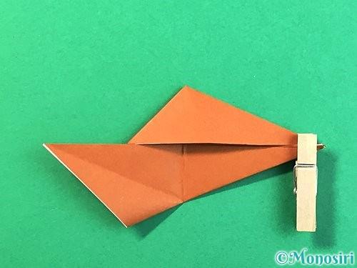折り紙で立体的なクワガタの折り方手順59