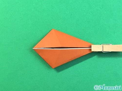 折り紙で立体的なクワガタの折り方手順60
