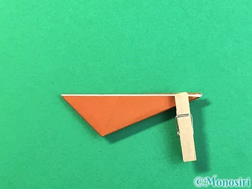 折り紙で立体的なクワガタの折り方手順62