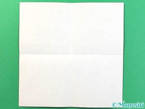 折り紙で立体的なクワガタの折り方手順2
