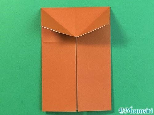 折り紙で立体的なクワガタの折り方手順8