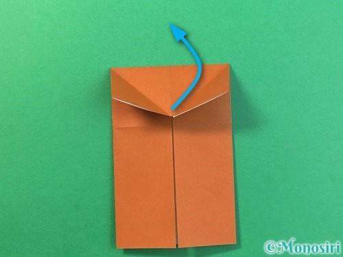 折り紙で立体的なクワガタの折り方手順9