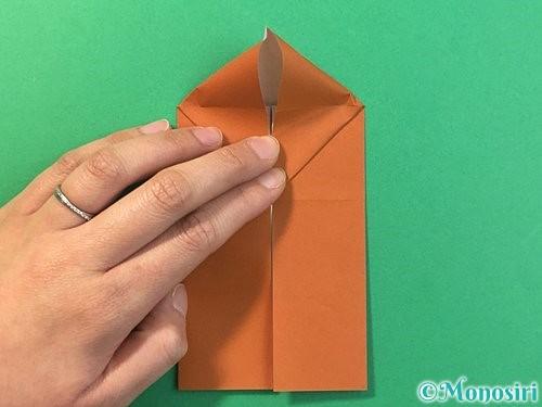 折り紙で立体的なクワガタの折り方手順11