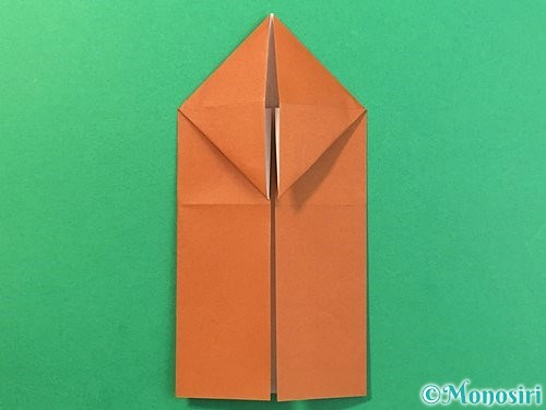 折り紙で立体的なクワガタの折り方手順12